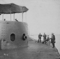 USS_Monitor_after_Battle_of_Hampton_Roads