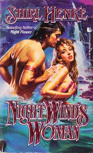 Night winds woman