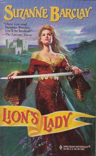 Sword lions lady