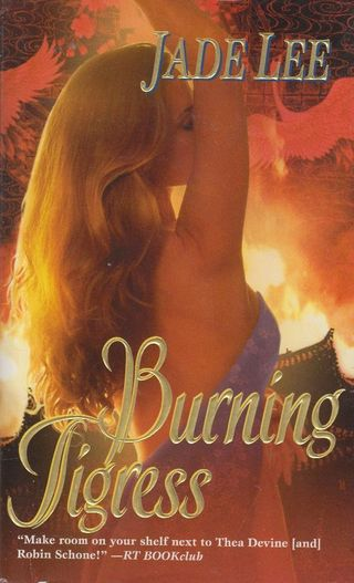 Burning tigress