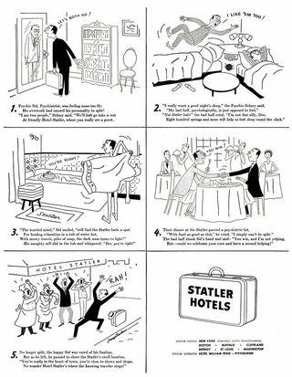 1949 Life Statler Hotels