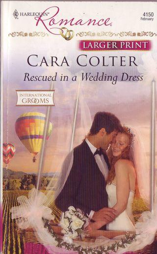 Rescued in a wedding dress modern balloon race