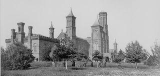 Smithsonian-Castle-daisies-631