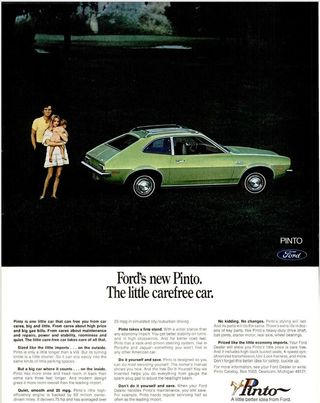 1970 Life Ford Pinto