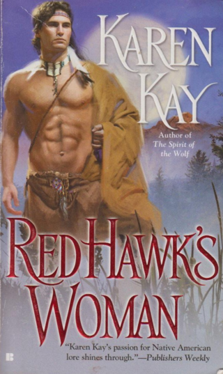 Red hawks woman